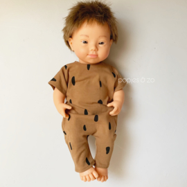 Miniland babypoppen