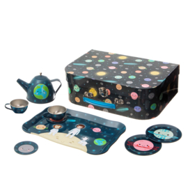Sass & Belle picknick set space explorer kinderserviesje