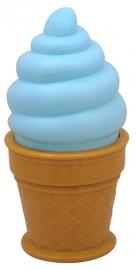 Icecream lamp blauw