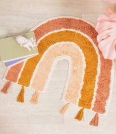 Sass & Belle vloerkleedje Earth Rainbow - regenboog tapijtje