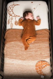 Witlof for kids - Tuck-Inn® ledikantdeken Ombre Hazel Brown