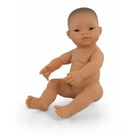Miniland Babypop Aziatisch - meisje (40 cm)