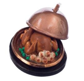 poppenhuis kalkoen in schaal
