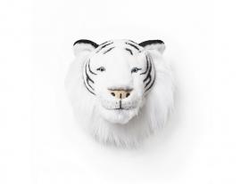 Wild & Soft   dierenkop witte tijger