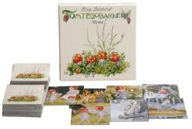 Elsa Beskow memory spel Kabouterkinderen - Tomtebobarnen