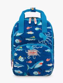 Cath Kidston - peuter mini rugzak - zeedieren - spooky fish - 28 x 26 cm