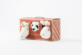 Wild & soft lovely box mini eenhoorn panda konijntje