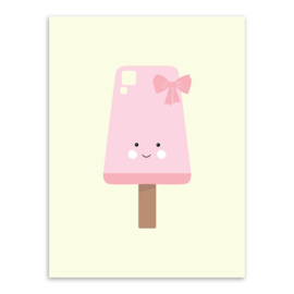 Poster icecream ijsje 30 x 40 cm