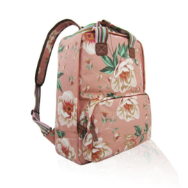 Huiskamergeluk Backpack Wild Roses dusty pink