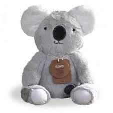 O.B. Designs Knuffel koala Kelly lichtgrijs