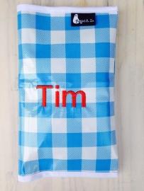 luiermapje Tim (geborduurde naam!)