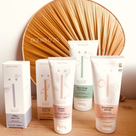 Naïf compleet pakket met GRATIS shampoo & teddy luier etui!!
