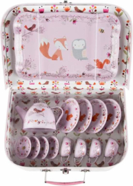 Sass & Belle picknick set woodland friends kinderserviesje