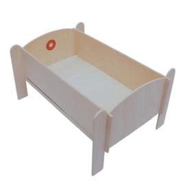 Franck & Fischer poppenbedje doll bed hout
