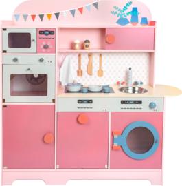 Kinderkeuken roze gourmet