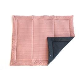 Poppiezz speelkleed 2GO pink blossom in draagtas - opvouwbaar! 80 x 100 cm