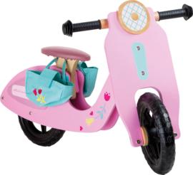 Balans loopfiets - roze speedy