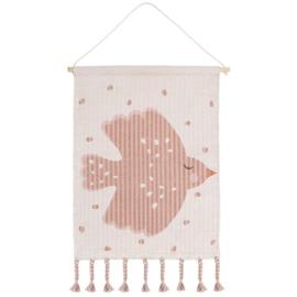 Nattiot Sweet Birdy wanddecoratie 45 x 50 cm