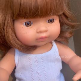 Miniland Babypop roodharig meisje (38 cm)