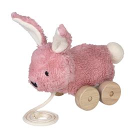Franck & Fischer trekdier mingus konijn roze