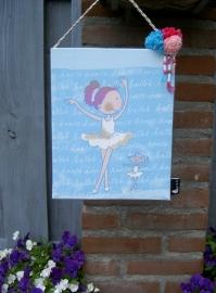 """Schilderijtje """"Ballerina"""""""