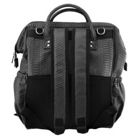 Isoki Luiertas Byron Backpack - Mumba Black