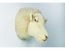 Wild & Soft  dierenkop schaap