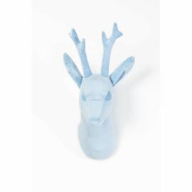 Wild & Soft dierenkop abstract reebok lichtblauw