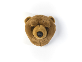 Wild & Soft  dierenkop beer bruin