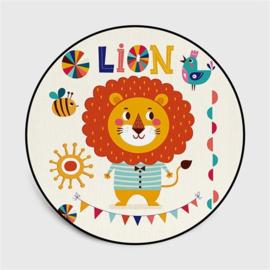 vloerkleed speelmat leeuw multi