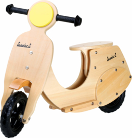 Balans loopfiets - motor scooter