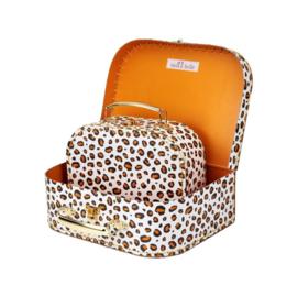 Sass & Belle koffersetje Leopard love - luipaard - set van 2