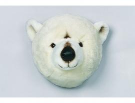 Wild & Soft  dierenkop ijsbeer
