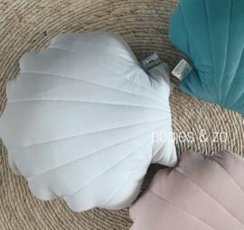 Cam Cam Sea shell kussen classic grey - schelpenkussen
