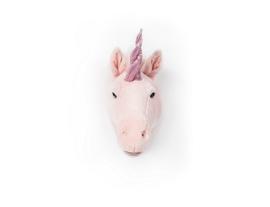 Wild & Soft  dierenkop eenhoorn julia roze