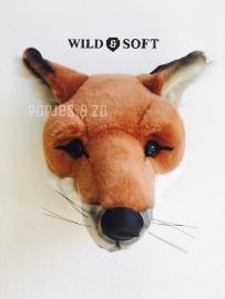 Wild & soft dierenkop vos