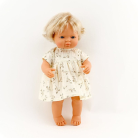 Miniland Babypop Europees - meisje (38 cm)