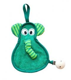 speendoekje Timboo olifant mint groen
