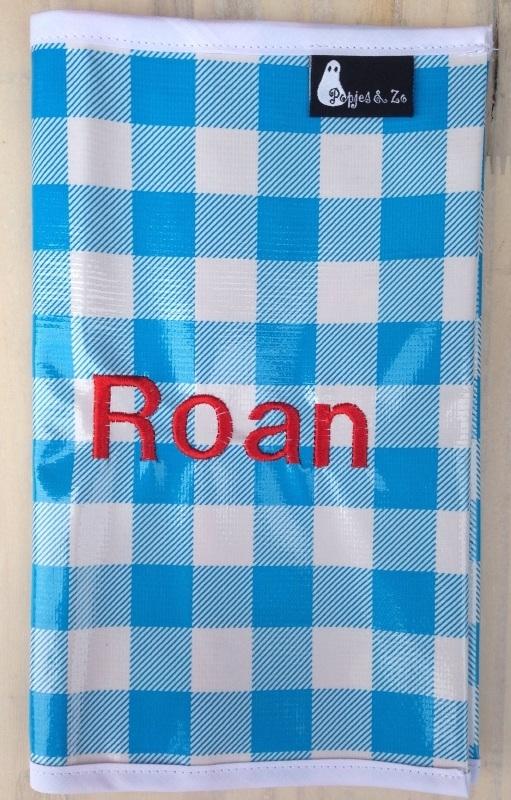 luiermapje Roan (geborduurde naam!)