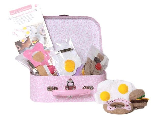 The little experience Stitch it breakfast and lunch kit 8+