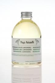 Massageolie Lavendel - Rozemarijn 250 ml