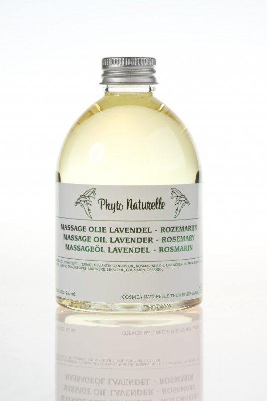 Massageolie Lavendel - Rozemarijn 250 ml
