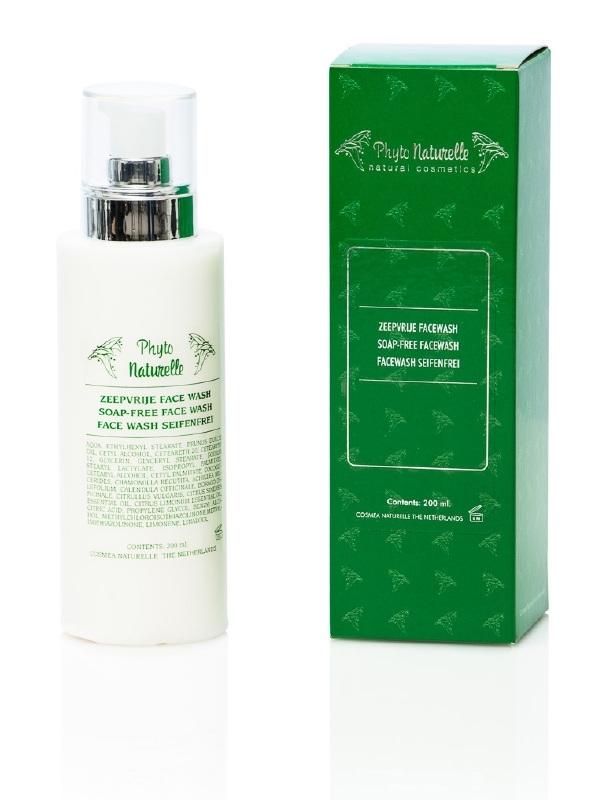Facewash zeep- en alkalivrij zachte milde reiniging