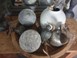 Decoratie bal metaal