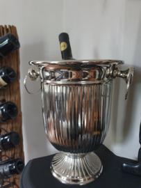 Wijnkoeler nikkel