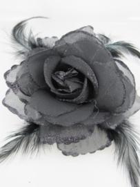 Zwarte Roos Haarkam