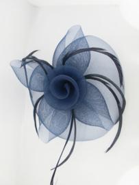 Swirl Fascinator Blauw