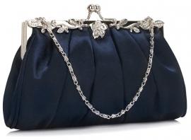 Klein Donker Blauw Tasje