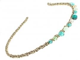 Haarband Aqua Groen