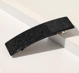 Zwarte Haarspeld met Glitter SALE